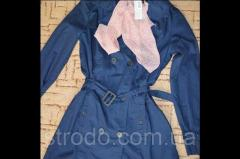 Стильный, модный плащ тренчкот с шарфом ESMARA
