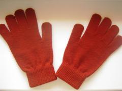 Вязанные перчатки Тchibo Германия