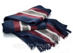 Теплый мужской шарф с шерстью Tchibo Германия