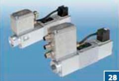 Proportional valves (hydraulic distributors,