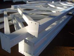 Metalwork - production and installation (farms,