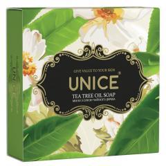 Мыло Unice Tea tree Oil Натуральное с маслом