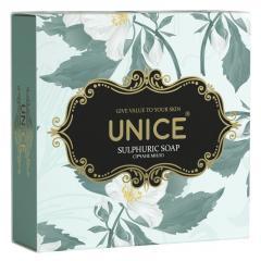 Натуральное Мыло Unice Sulphuric Soap с серой ,100