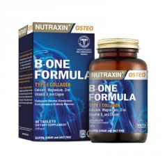 Натуральный препарат NUTRAXIN B-one Formula для прочности костей , 90 таблеток