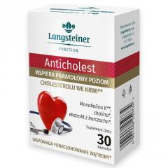 Натуральный препарат Langsteiner Антихолестериновый 30 капсул