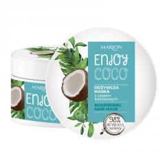 Питательная маска для питания волос с кокосовым маслом Marion Enjoy Coco, 200 мл