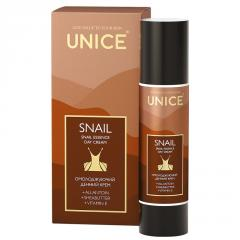 Омолаживающий дневной крем Unice Snail, 50 мл