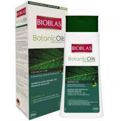 Шампунь для жирных волос Unice Bioblas, 360 мл
