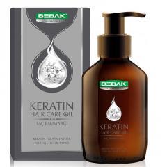 Масло для волос BEBAK с кератином, 100 мл