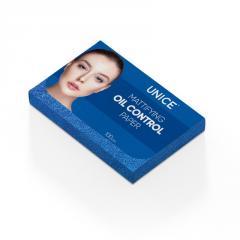 Матирующие салфетки для жирной кожи лица Unice Oil