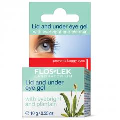 Unice Flos Lek Eye Gel with Plantain, 10 g