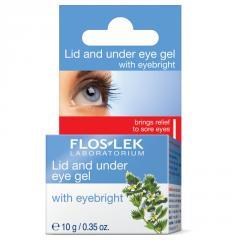 Гель для области вокруг глаз Unice Flos Lek с Очанкой, 10 г
