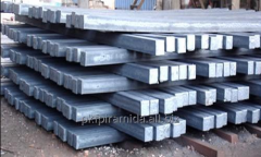Square preparation of 125х125 mm steel 45