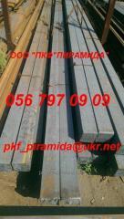 Square preparation 125x125, 130x130, 150х150 mm of