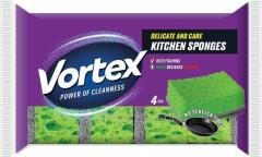 Губки кухонные Vortex для деликатных...