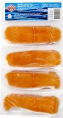 Филе лосося порционное, 500г.