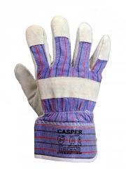 Перчатки комбинированные спилковые Украина Trident
