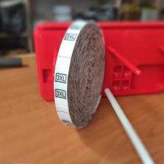 R-639 Размерник тканевый (жаккард) 3XL 960шт.