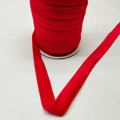 А-026 Трикотажная окантовочная бейка (стрейч. эластичная) 1,5см х 50ярдов (красный) (СИНДТЕКС-0257)