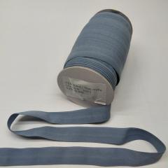 А-003 Трикотажная окантовочная бейка (стрейч. эластичная) 2см х 50ярдов (серая) (СИНДТЕКС-0250)