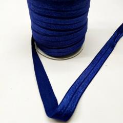 А-120 Трикотажная окантовочная бейка (стрейч. эластичная) 1,5см х 50ярдов (синий) (СИНДТЕКС-0260)