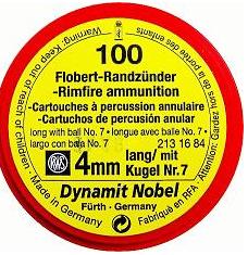 Патроны Флобера Dynamit Nobel.