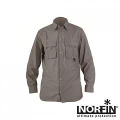 Рубашка NORFIN COOL LONG SLEEVE(серая) размер S