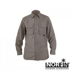 Рубашка NORFIN COOL LONG SLEEVE(серая) размер XXXL
