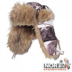 Шапка-ушанка Norfin Hunting 750 White р.L (34148)