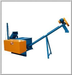 Node of preparation of flour. Testing equipment of