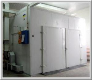 Cupboard drying cell with one-time loading to 750
