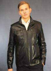 Кожаная мужская куртка М-8М1 продажа поставка опт