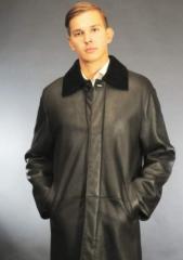 Man's sheepskin coat of M-1DM sale delivery