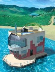 Дом мобильный (мобильные дома) на воде