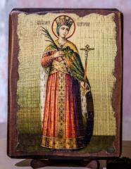 """Икона """"Святая Великомученица Екатерина """""""
