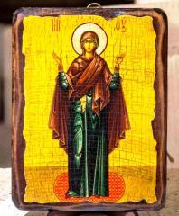 Икона Нерушимая стена Пресвятой Богородицы