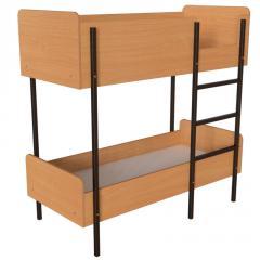 Кровать детская двухъярусная для садика. Кровати