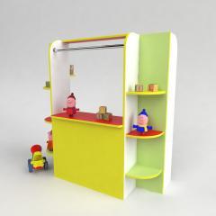 Детская игровая стенка Кукольный театр для садика