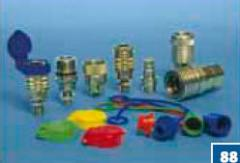 Hydraulic quick disconnect couplings
