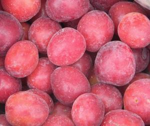 Frozen plum