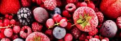 Frozen fruits, confectionery