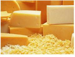 Cheese product of 50% to fa