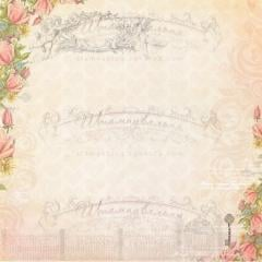 Paper design for scrapbooking of archival quality