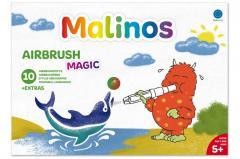 Фломастеры-аэрографы волшебные MALINOS BLOpens