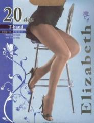 Elizabeth 20 den T-band tights
