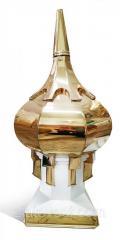 """Купол для церкви """"золотой"""" сложный ,"""