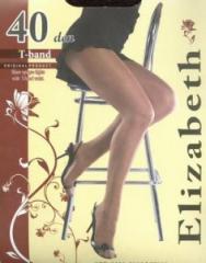 Elizabeth 40 den T-band tights
