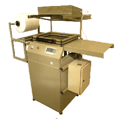 Vacuum forming machine for packaging the SKIN