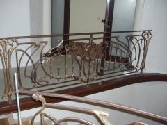 Ограждения балконов, лестниц, производство,