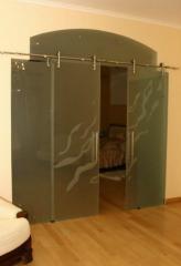 Doors glass sliding   Sokolglass